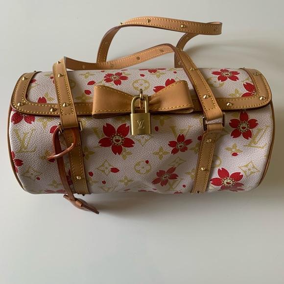 70eca9f5085 Louis V Takashi Murakami Cherry Blossom Papillon